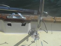 Crash im Hafen