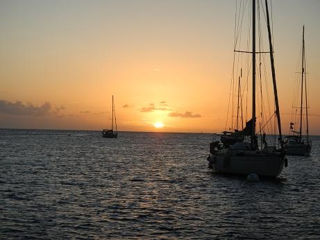 Wiedersehen in Grand Anse auf Martinique