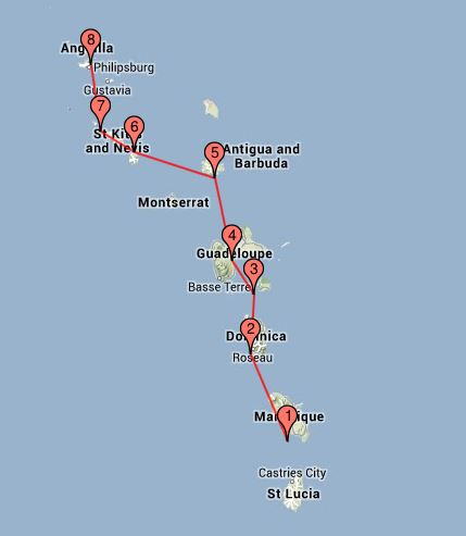 Karibikroute 2